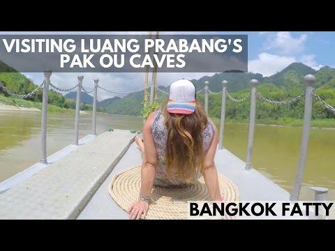 Laos Travel Vlog #3: Visiting Luang Prabang's Pak Ou Caves
