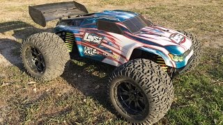 Losi LST XXL-2 E Brushless Getting Some Air