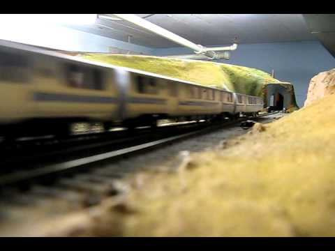 Golden Gate Model RR San Francisco Bart and Great Northern Empire Builder HO Scale