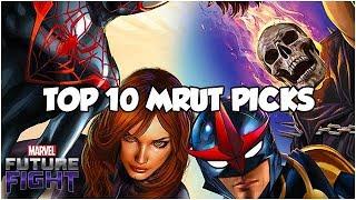 *BEST* MRUT HERO PICKS (Mega Rank☝Ticket) - Marvel Future Fight