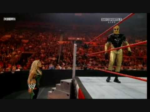 the return of Goldust  to WWE (Goldust vs Santino Marella)