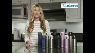 Zojirushi stainless steel, insulated mugs