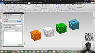 Скачать Siemens NX Layer Move To Layer