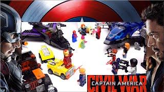 LEGO Marvel Первый мститель. Captain America v Iron Man. Лего Супер Герои. #181 LEGO Обзоры Warlord