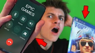 CALLING EPIC GAMES ABOUT FORTNITE 2!!