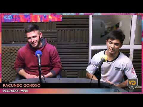 Matias Baez Y Facundo Goroso En Vórtice Deportivo - Vorterix Bahía