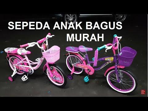 Sepeda Mini Paris dan Venice roda 18 inch untuk anak perempuan 4-5-6-7 tahun #586