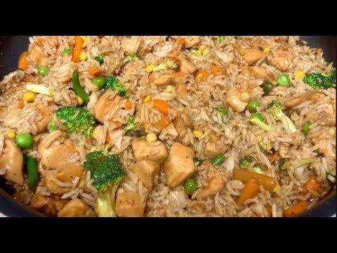 Teriyaki Chicken Fried Rice / Easy & Quick Recipe
