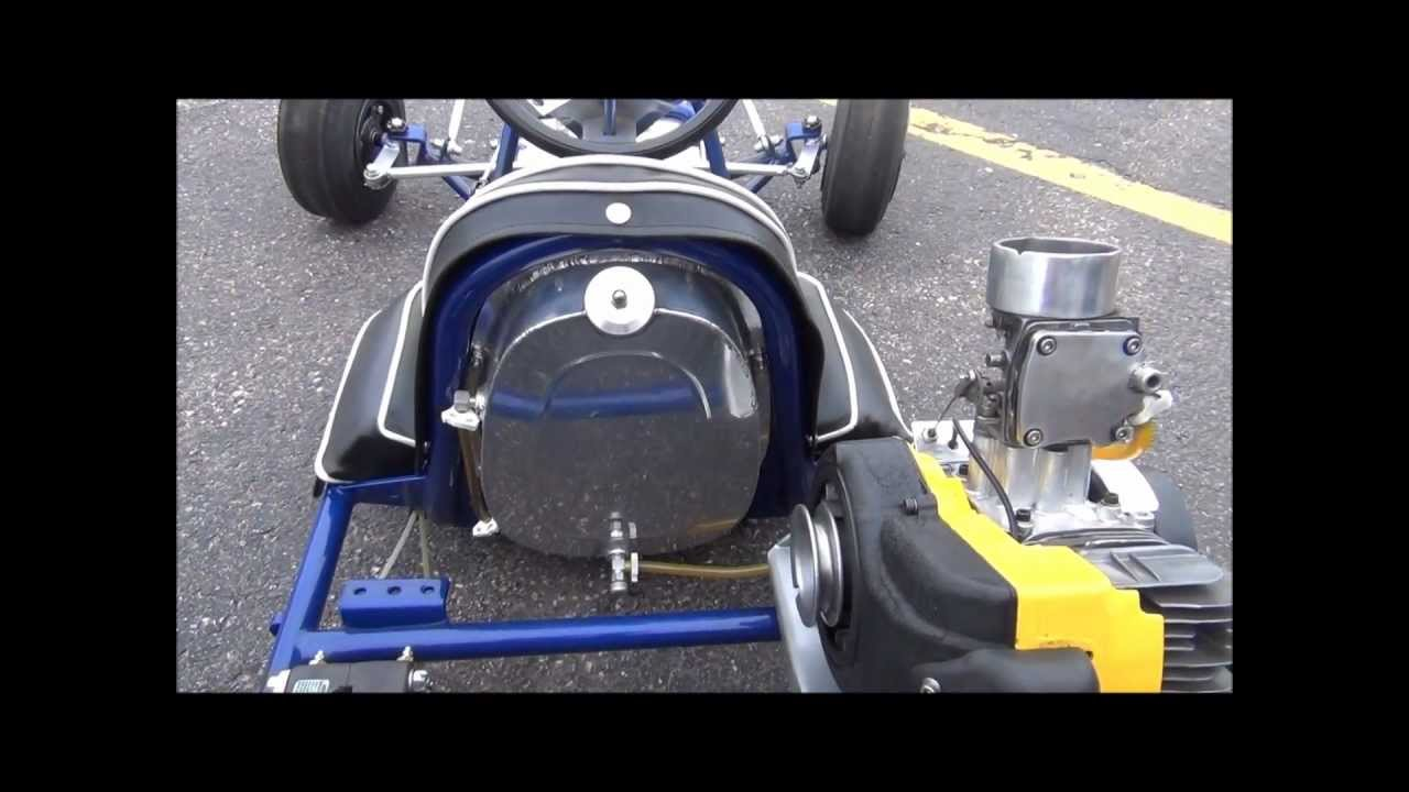Vintage Go-kart 1962 Rupp Dart A-Bone with McCulloch Engine