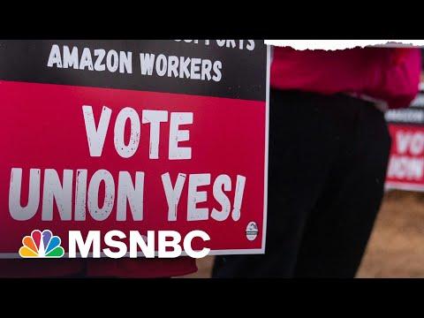 'Economic Selma': Amazon Workers In Bessemer Vote On Unionization | The ReidOut | MSNBC