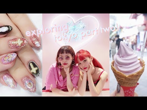 exploring tokyo! ❤️ going to a japanese nail salon, a summer festival, & my film premiere