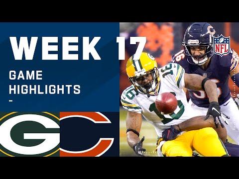 Packers vs. Bears Week 17 Highlights | NFL 2020