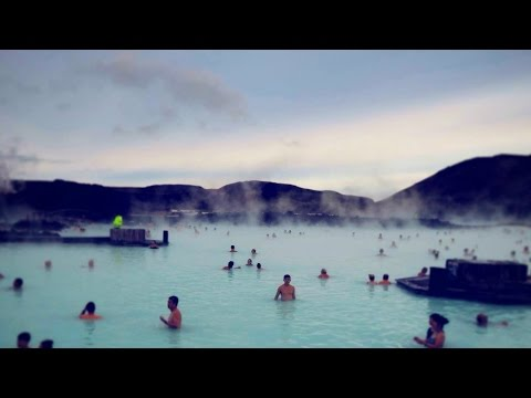 INCREDIBLE Day at the Blue Lagoon Geothermal Spa in Iceland!