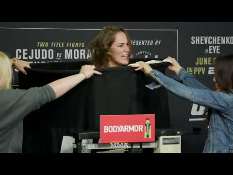 UFC 238 Weigh-Ins: Valentina Shevchenko, Jessica Eye Make Weight - MMA Fighting