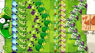 Every Premium Plant vs Long Camel Zombie Plants vs Zombies 2 All Plants Power Up
