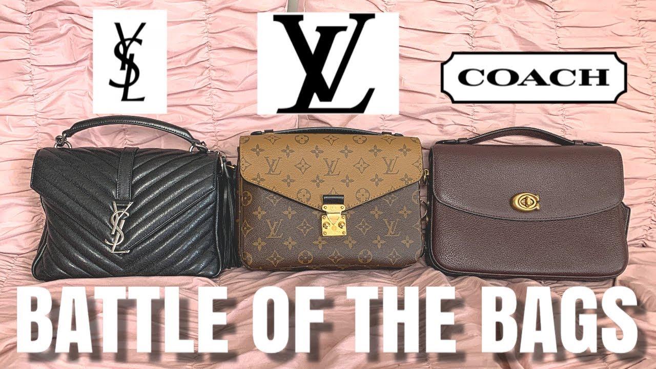 Louis Vuitton Pochette Metis v YSL College Matelasse v Coach Cassie -  Review, Comparison & What Fits