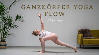 Ganzkörper Yoga Flow | dynamisch und kraftvoll | 25 Min. Workout