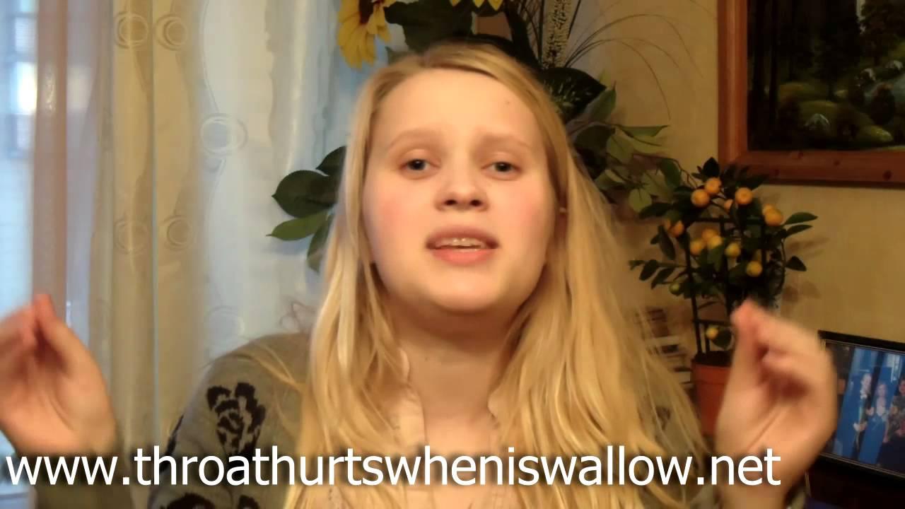 Throat Hurts When I Swallow - YouTube