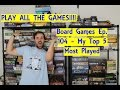 My 5 Most Played Board Games
