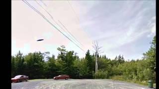 Ovni  Ufo In Google Maps Canada Free HD Video