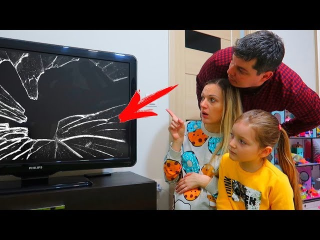 Cine A Stricat Televizorul? Istorioara Amuzanta! Who Broke the TV? Funny Story for Kids!