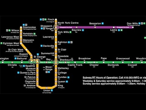 Toronto Subway Map Union Station.Cities Skylines Toronto Subway Lines 1 And 2