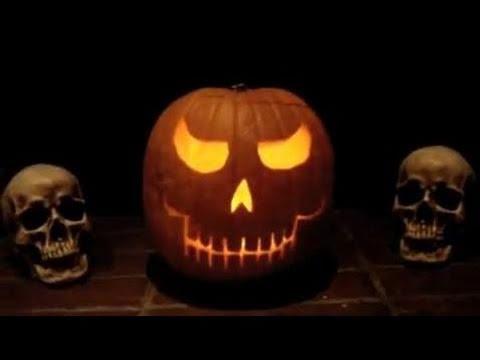 halloween skull pumpkin carving ghostly whistling youtube - Halloween Skull