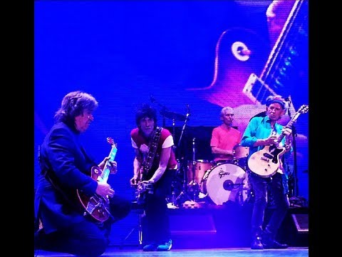 The Rolling Stones - Sway with Mick Taylor at Staples Center, Los Angeles 20/05/2013