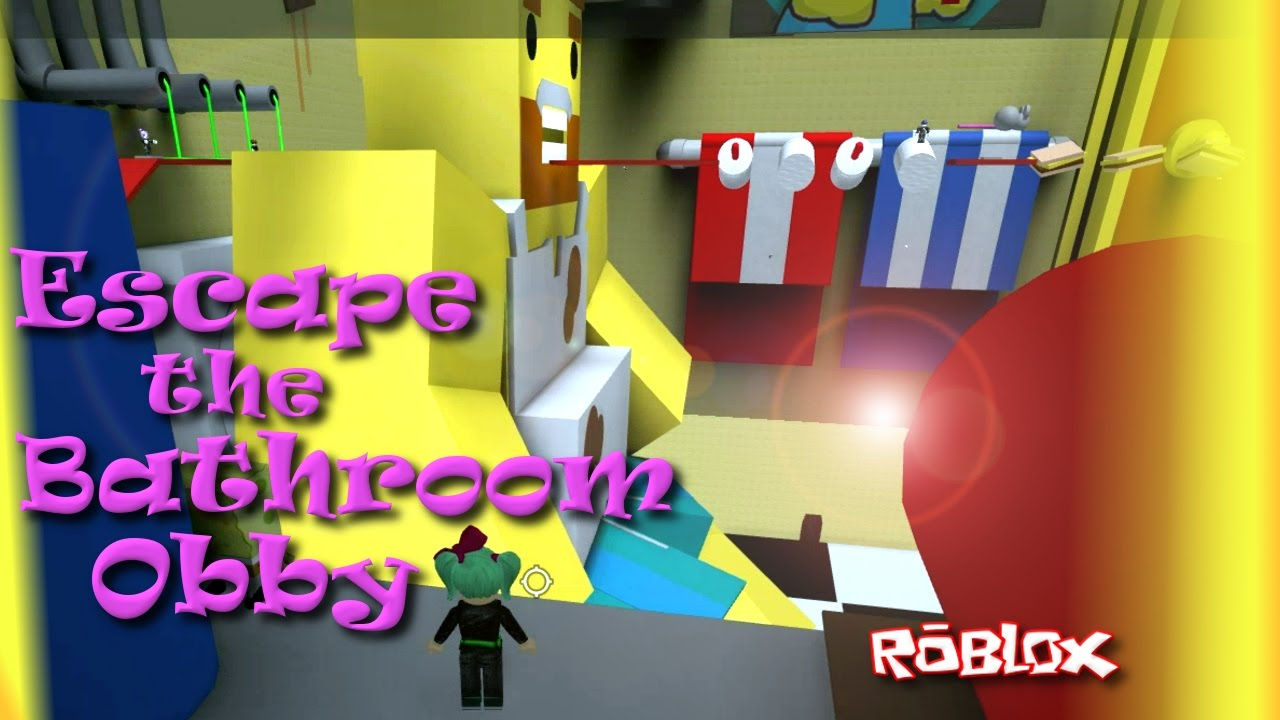 Escape The Bathroom Obby roblox | escape the bathroom obby | easiest obby ever