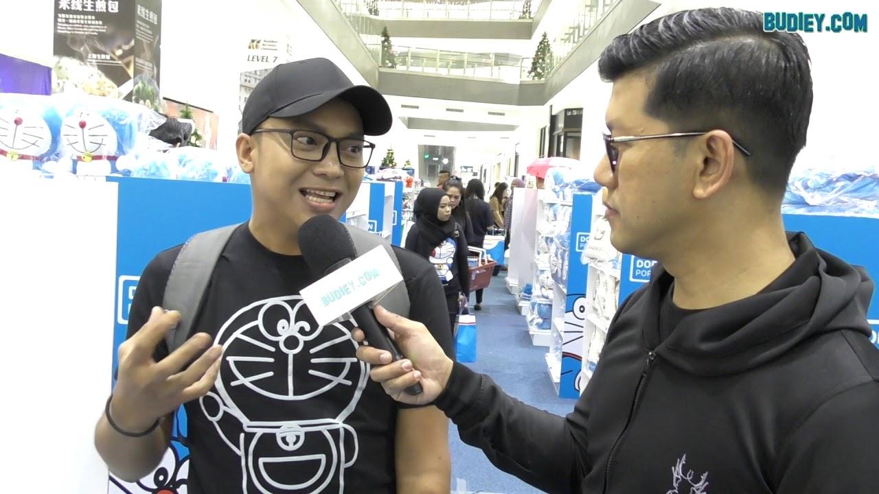 Vlog GILA SHOPPING di Doraemon Pop Up Store Johor Bahru