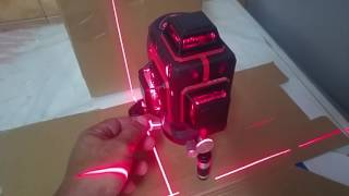 3D紅線水平儀示範
