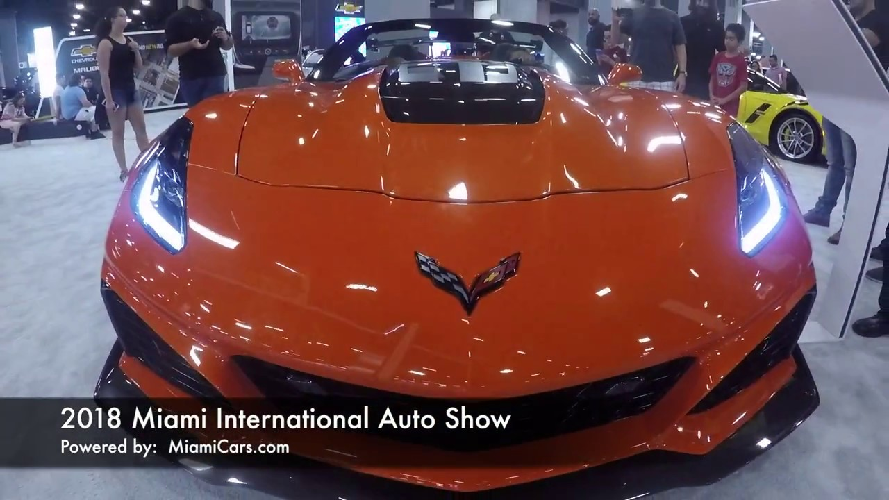 Auto Show Miami >> Miami International Auto Show 2018 Tour
