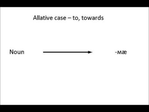 Ossetian lesson X: The ablative and allative cases.