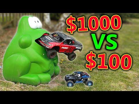 Decent CHEAP vs Expensive RC Car Crash Testing