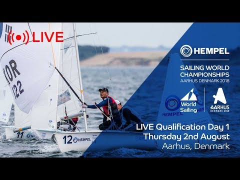 LIVE Sailing  Hempel Sailing World Championships  Qualification Day 1