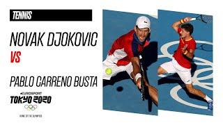 DJOKOVIC vs CARRENO BUSTA | Tennis - Bronze Medal Match - Highlights