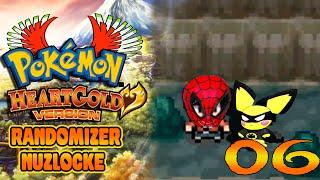 Pokémon Heart Gold Randomizer Nuzlocke: Ep6 -  Super Pokeróis!