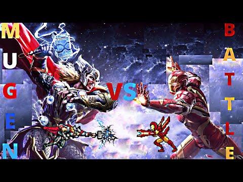 Thor vs Iron Man