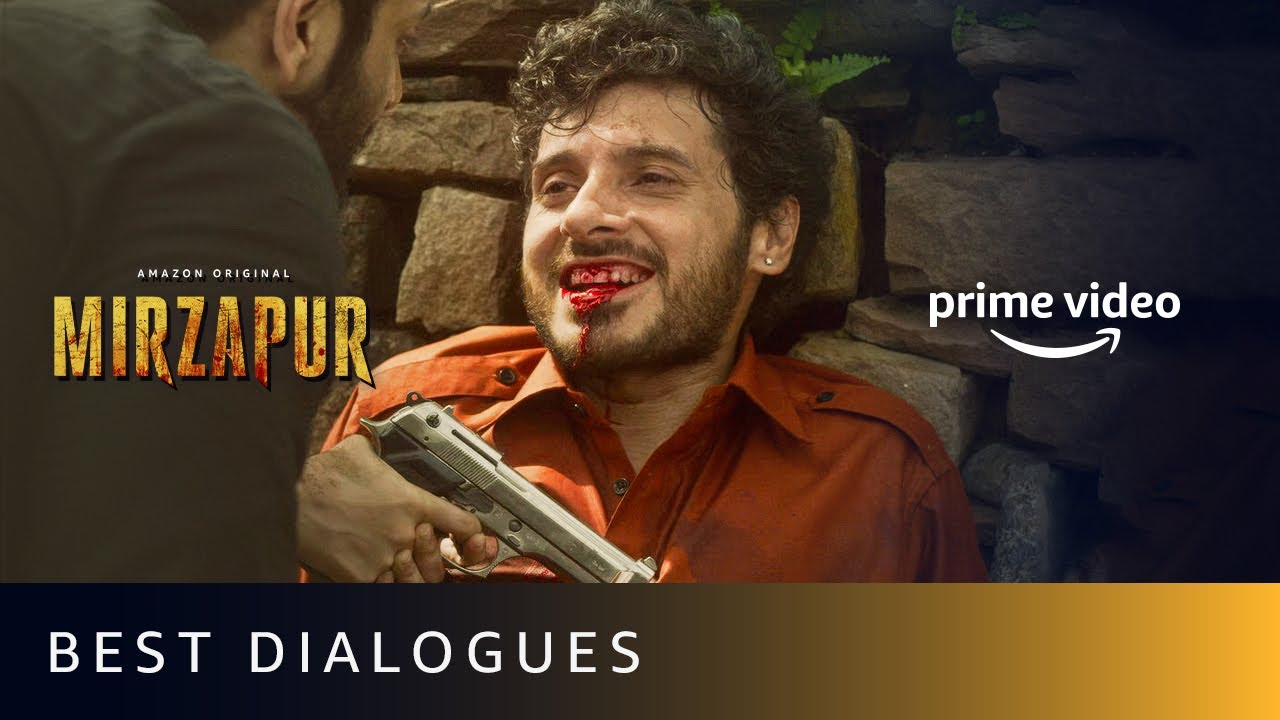 Download First And Last Dialogues Of Mirzapur Characters | Amazon Prime Video