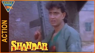 Shandaar Hindi Movie Mithun Chakraborty Action Scene Eagle Hindi Movies