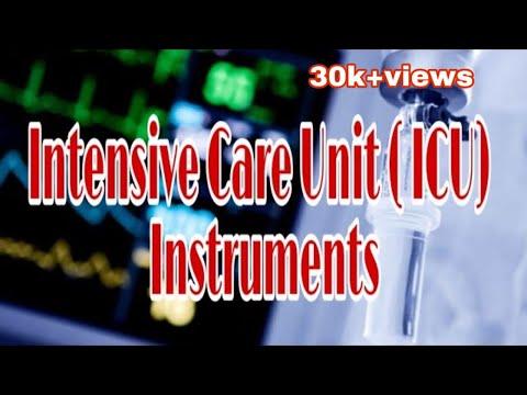 Intensive Care Unit ( ICU ) Instruments || Mis.Medicine