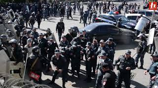 Բախում ցուցարարների և ոստիկանների միջև․ ողջ ընթացքը
