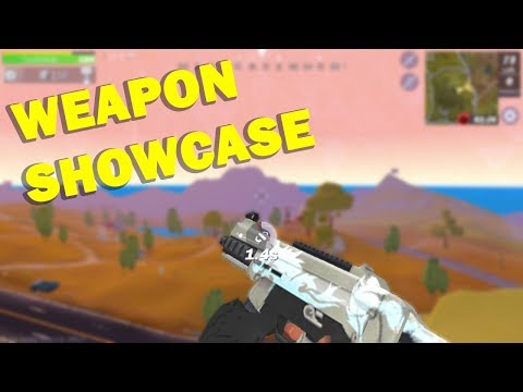 Creative Destruction - All Weapons Showcase, Animations Reload & Sounds