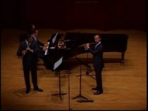 C.P.E. Bach, Trio Sonata in d-minor, Formisano, Jundt, Ji