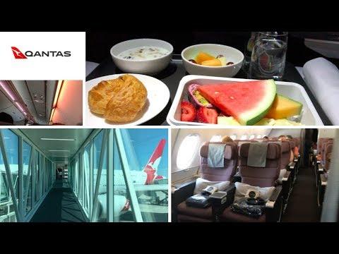 (Flight Review) Qantas A380-800 Melbourne To Los Angeles Premium Economy QF93 MEL-LAX (VH-OQK)
