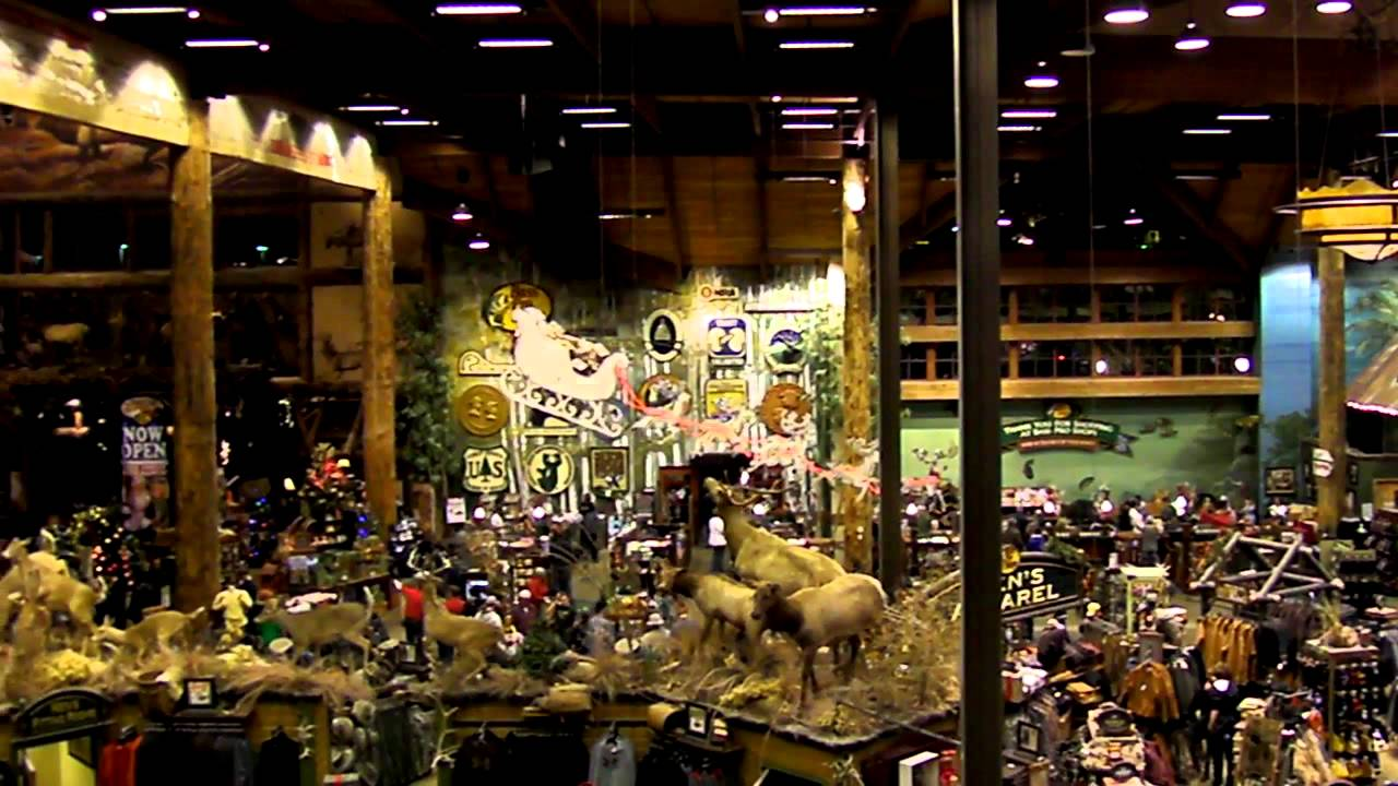 Outdoor World Bass Pro Shops Denver - YouTube