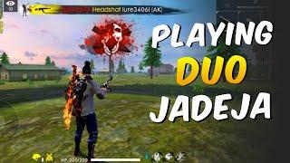 Ajjubhai94 Playing Duo With Jadeja - Garena Free Fire Live