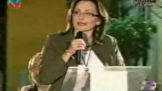 Impasse en VIVO. Daniella Bergami Gerente General de RCTV con Oscar Yanes