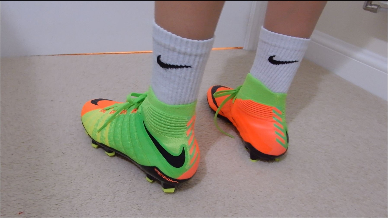 b57a08224b8d Nike Hypervenom 3 FG Kids Unboxing and Review - YouTube