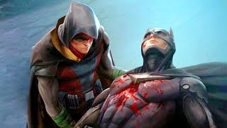 Batman Loses His Son To Evil Superman Scene - Injustice 2